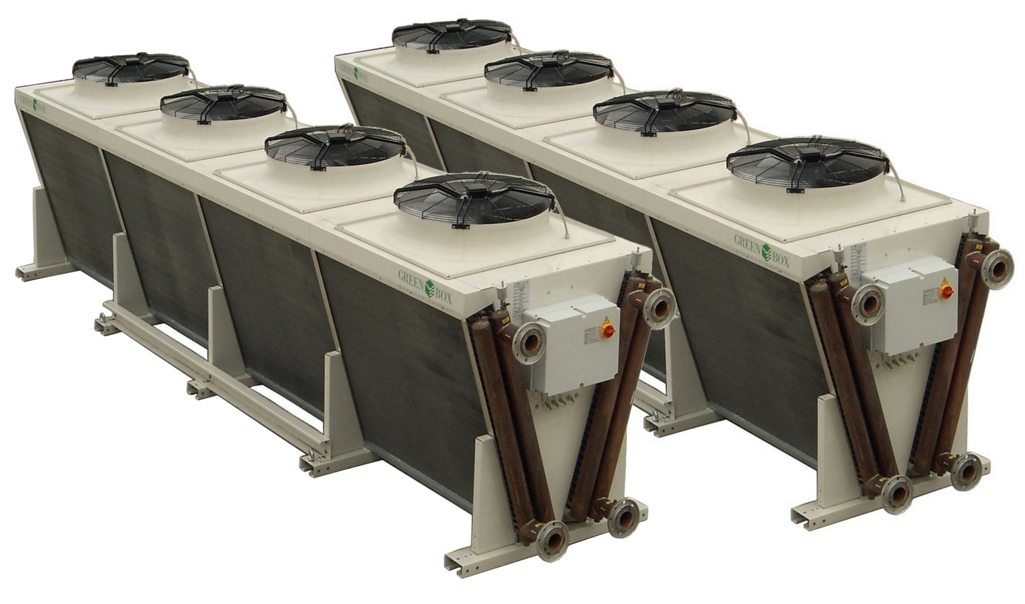 Adiabatic Fluid Cooler : Adiabatic cooler fc free ibc plastic